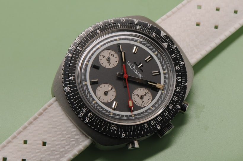 LeCoultre chronograph Ref. E2647