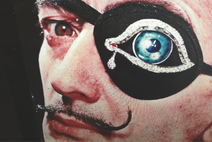 Found: Salvador Dalí's 'The Eye Of Time,' Easily One Of The
