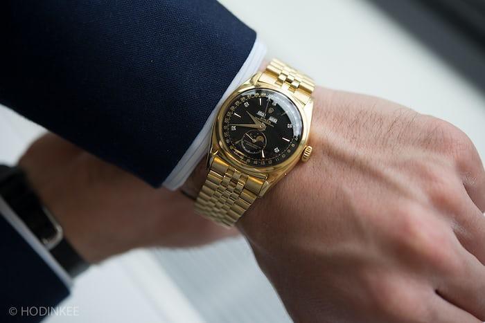bao dai wristshot phillips rolex 6062