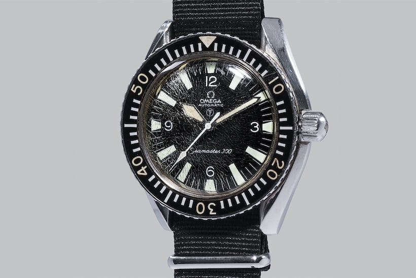The Omega Seamaster 300 Mil-Spec, formerly owned by J.B. Fisher