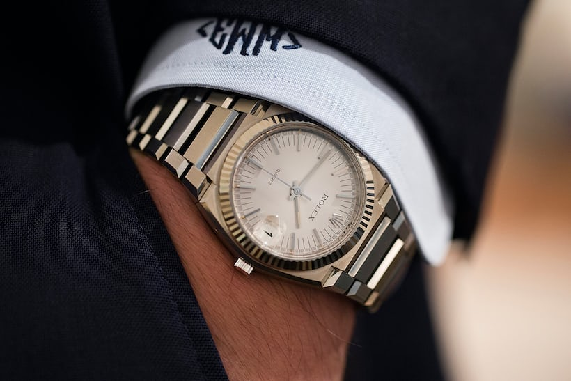 Rolex Ref. 5100 white gold christies