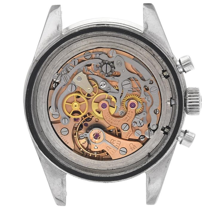 Manually-wound chronograph caliber 321