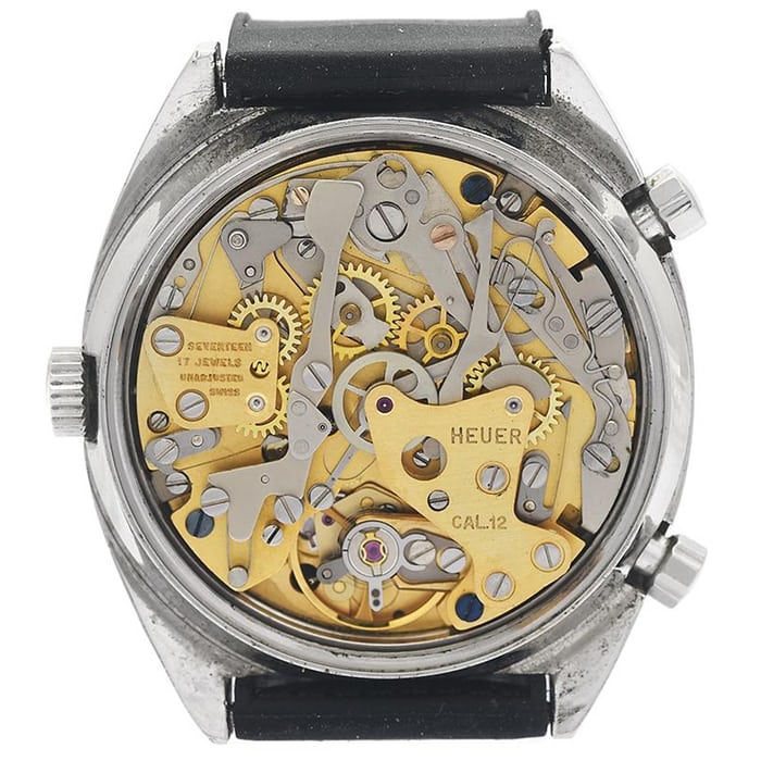 Automatic chronograph caliber 12