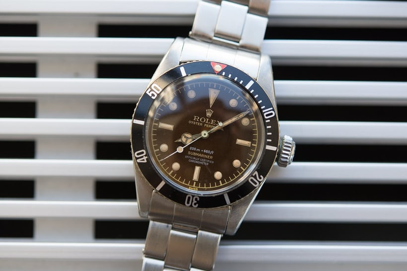 rolex submariner 6538 phillips world record