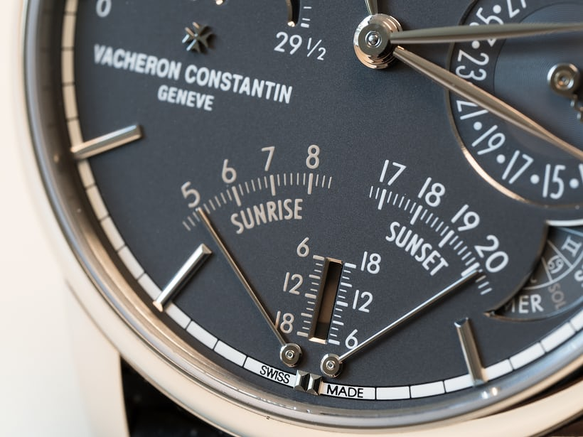 vacheron constantin celestia sunrise sunset