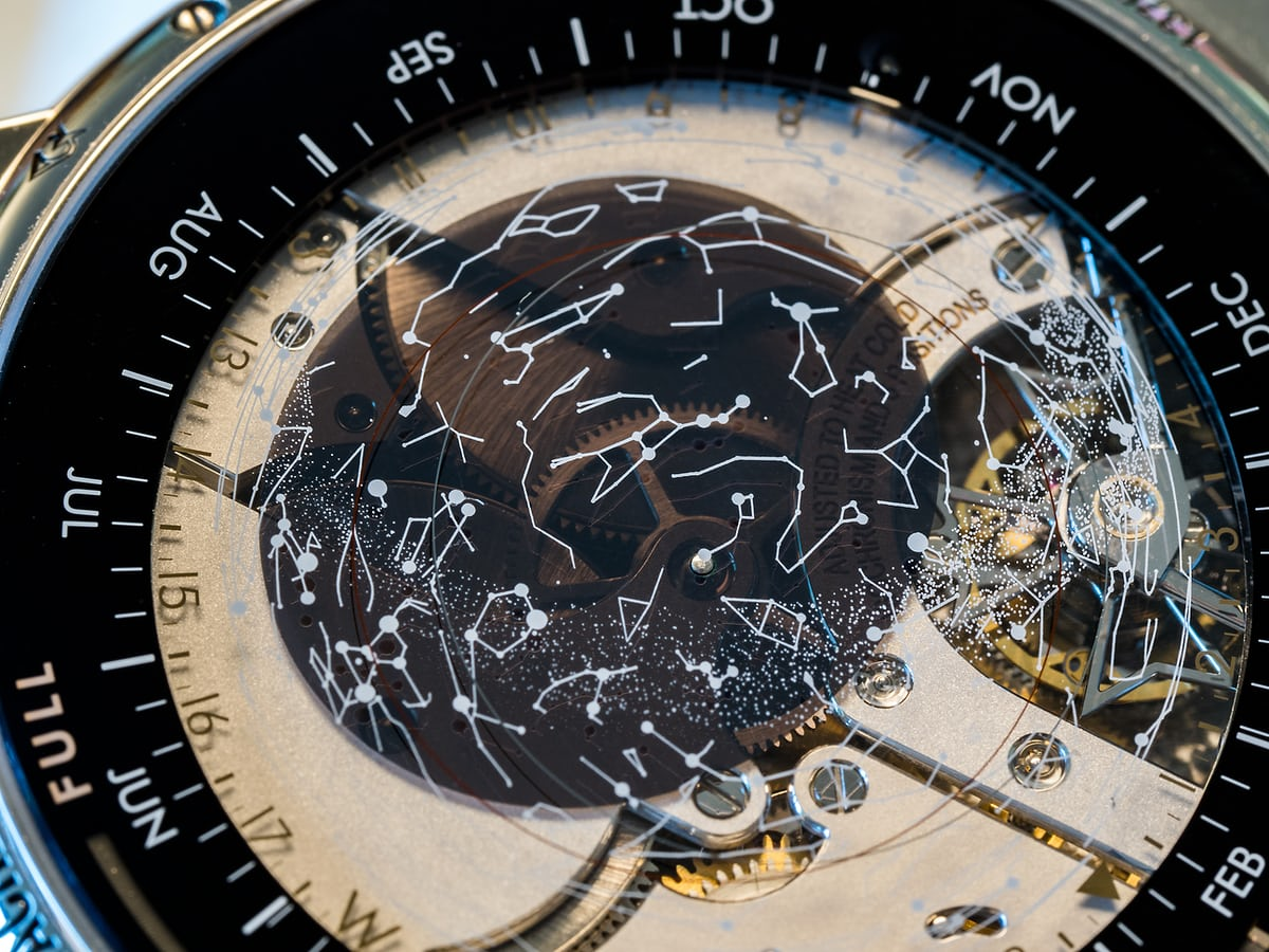 vacheron constantin celestia star map closeup