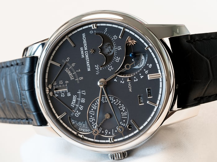 vacheron constantin celestia calendar, lunar, and tropical year indications