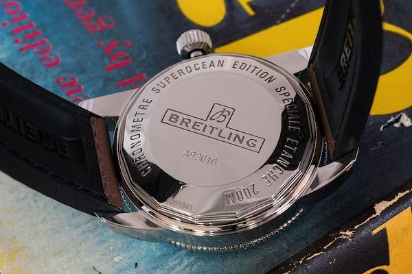 Breitling Superocean Héritage II caseback