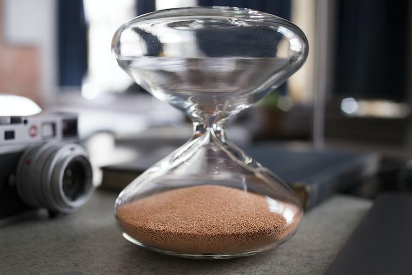 Marc Newson Hourglass for HODINKEE