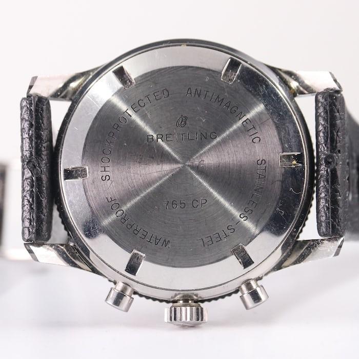 Breitling 765-CP caseback
