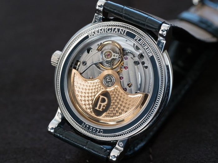 Toric Memory Time Parmigiani Fleurier movement lemania 8813