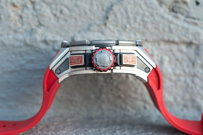 richard mille RM 032 diving case titanium