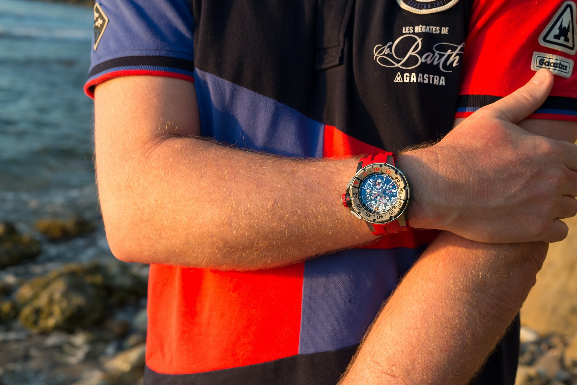 richard mille RM 032 wristshot Hands-On: The Richard Mille RM 032 Diver Flyback Chronograph Hands-On: The Richard Mille RM 032 Diver Flyback Chronograph RM032 11