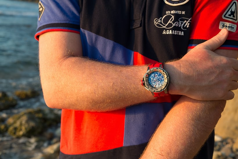 richard mille RM 032 wristshot