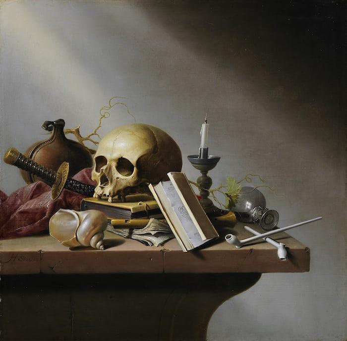 Vanitas by Harmen Steenwijck