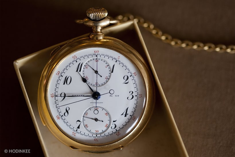 general patton pocket watch tiffany patek philippe