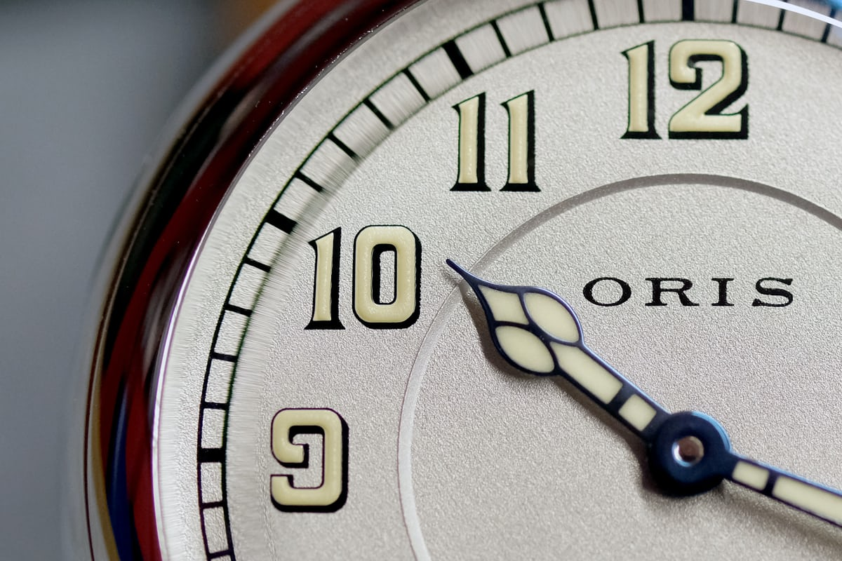 oris big crown 1917 limited edition dial