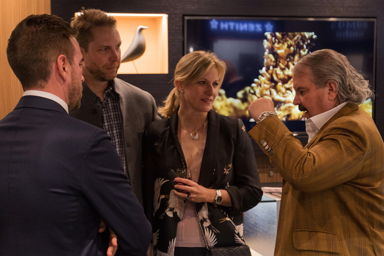 Photo Report: The Tudor Baselworld Novelties At Swiss Fine Timing In Chicago Photo Report: The Tudor Baselworld Novelties At Swiss Fine Timing In Chicago  Just People Observing only 11