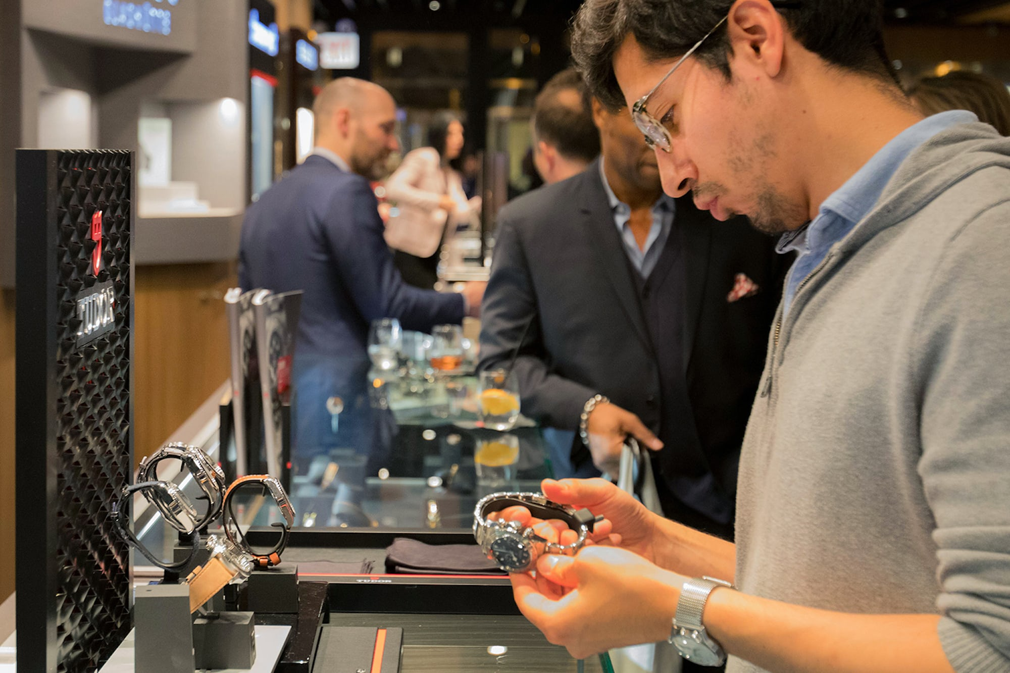 Photo Report: The Tudor Baselworld Novelties At Swiss Fine Timing In Chicago Photo Report: The Tudor Baselworld Novelties At Swiss Fine Timing In Chicago  People Interactions Watches only 10
