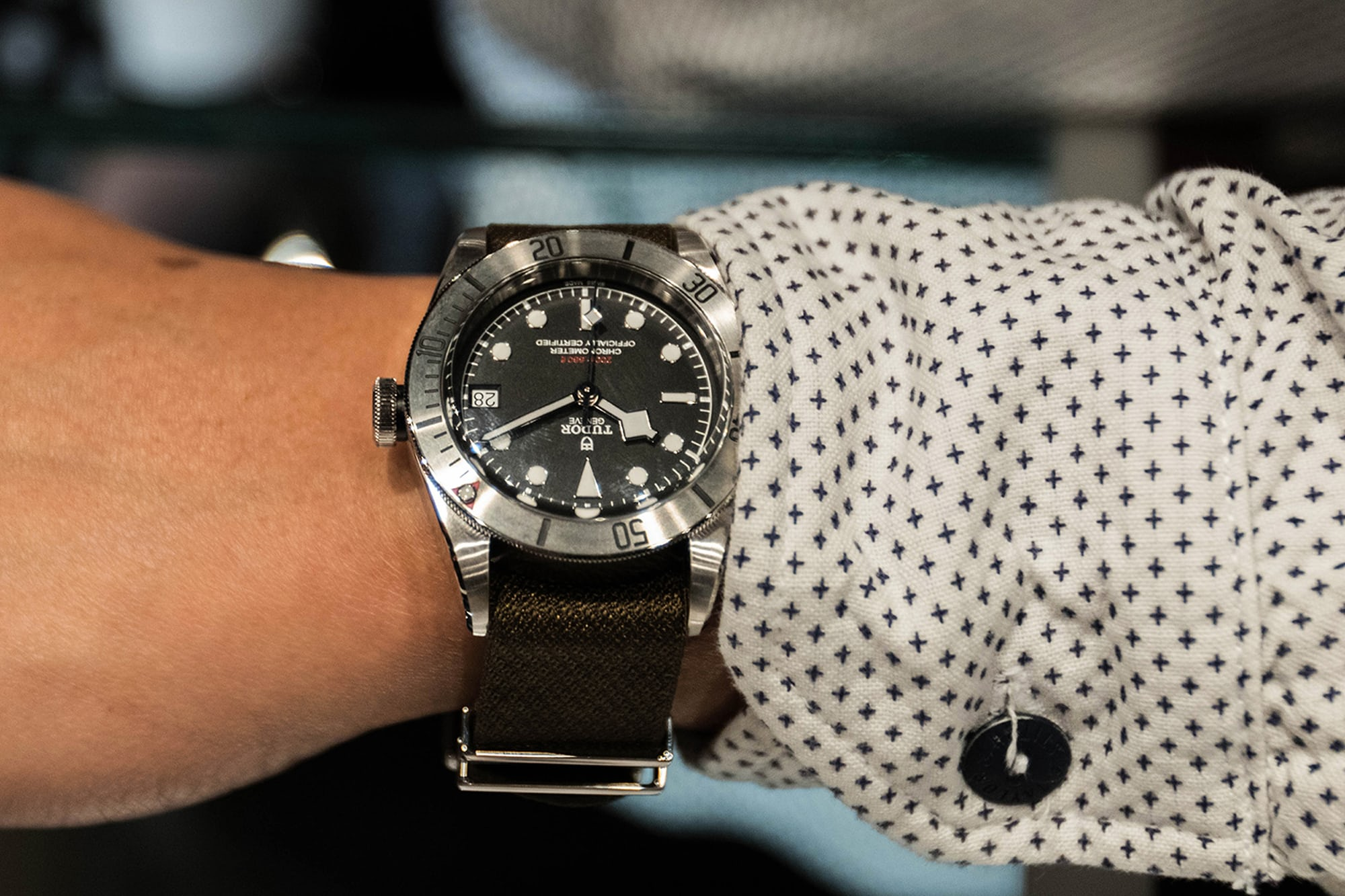 Photo Report: The Tudor Baselworld Novelties At Swiss Fine Timing In Chicago Photo Report: The Tudor Baselworld Novelties At Swiss Fine Timing In Chicago  Wrist Watches only 6