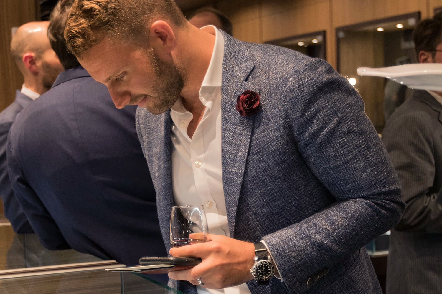 Photo Report: The Tudor Baselworld Novelties At Swiss Fine Timing In Chicago Photo Report: The Tudor Baselworld Novelties At Swiss Fine Timing In Chicago  Just People Observing only