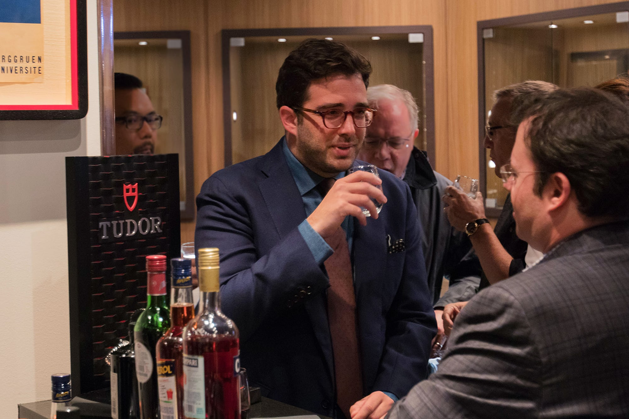Photo Report: The Tudor Baselworld Novelties At Swiss Fine Timing In Chicago Photo Report: The Tudor Baselworld Novelties At Swiss Fine Timing In Chicago  Just People Observing only 9