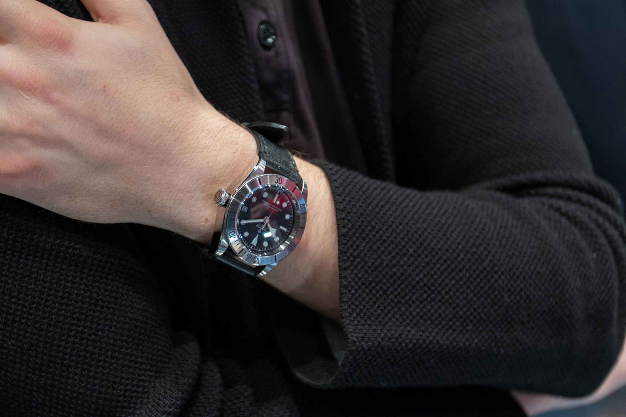 Photo Report: The Tudor Baselworld Novelties At Swiss Fine Timing In Chicago Photo Report: The Tudor Baselworld Novelties At Swiss Fine Timing In Chicago People Interactions Watches only 3