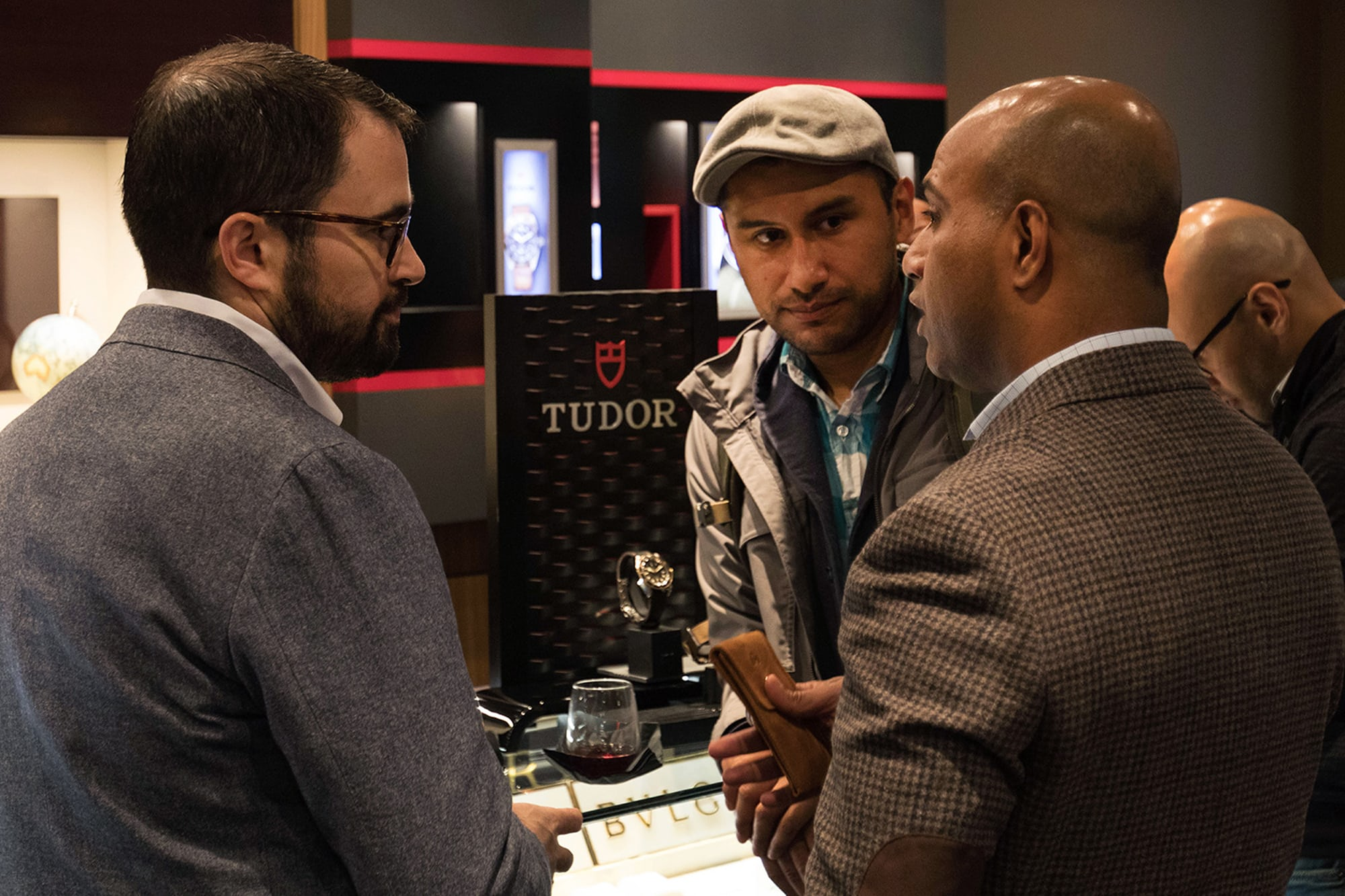 Photo Report: The Tudor Baselworld Novelties At Swiss Fine Timing In Chicago Photo Report: The Tudor Baselworld Novelties At Swiss Fine Timing In Chicago  ust People Observing only 2