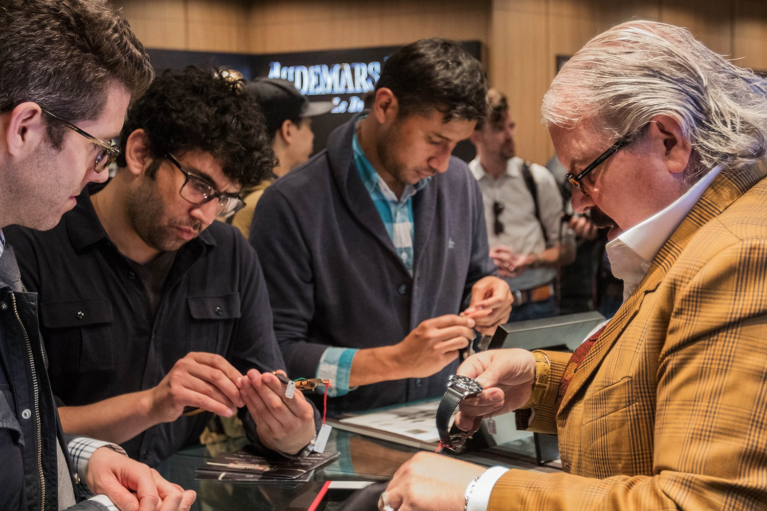 Photo Report: The Tudor Baselworld Novelties At Swiss Fine Timing In Chicago Photo Report: The Tudor Baselworld Novelties At Swiss Fine Timing In Chicago InteractingwithWatches People only 17