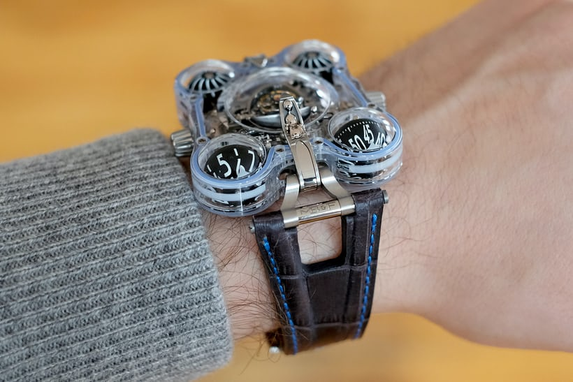 mb&f hm6 alien nation wristshot