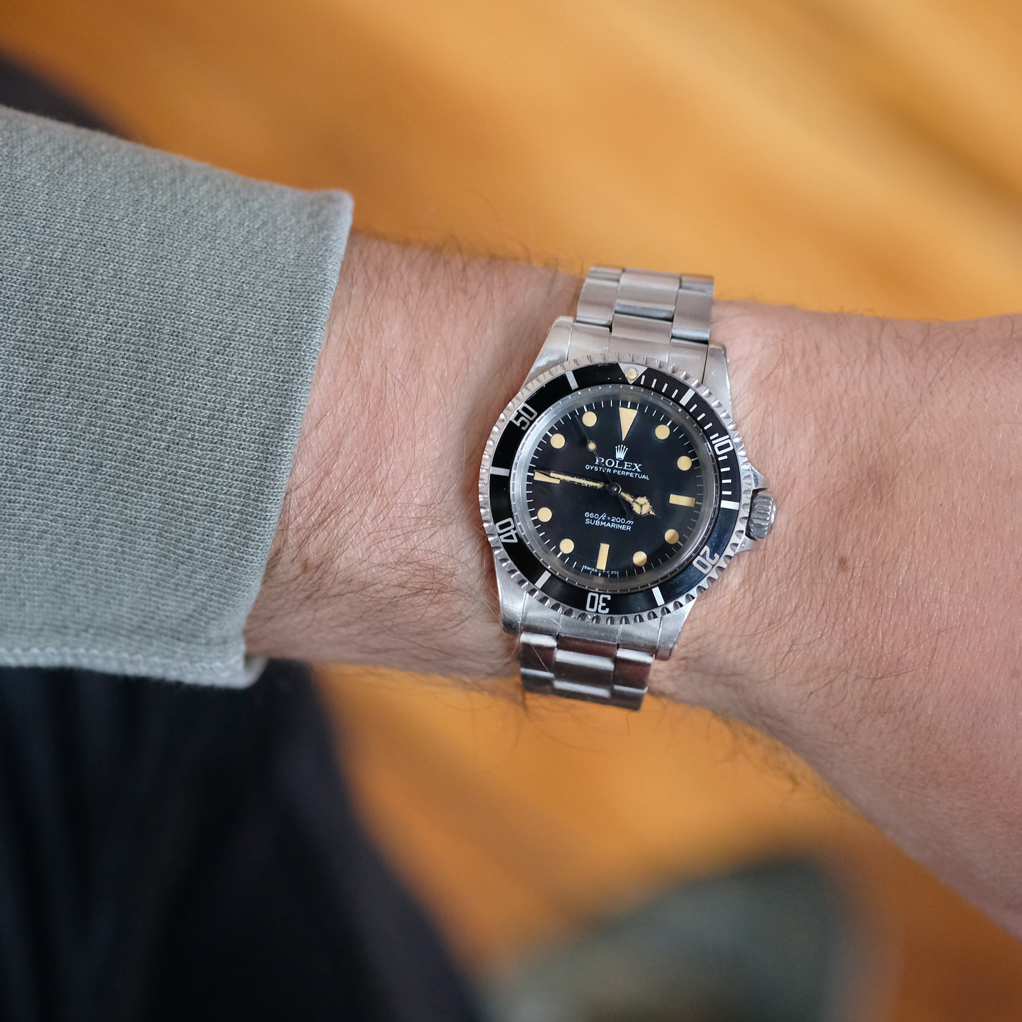 In The Shop: A 1977 Rolex Submariner Ref. 5513, A 1956 Omega Seamaster For The Olympics, And A 1970s Zenith Super Sub Sea A3736 In The Shop: A 1977 Rolex Submariner Ref. 5513, A 1956 Omega Seamaster For The Olympics, And A 1970s Zenith Super Sub Sea A3736 Select 6