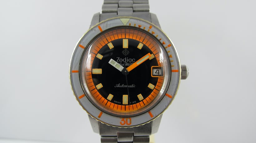 Zodiac sea wolf orange