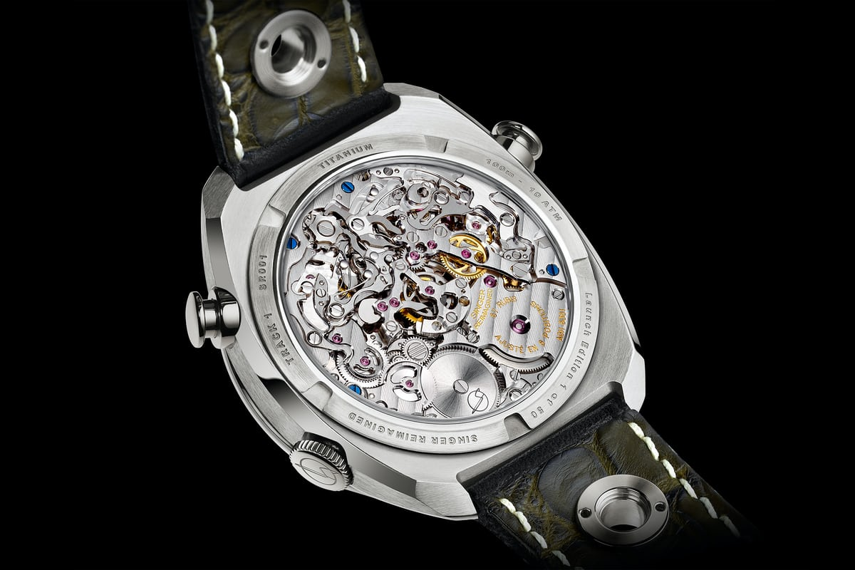 singer track1 chronograph agengraphe movement