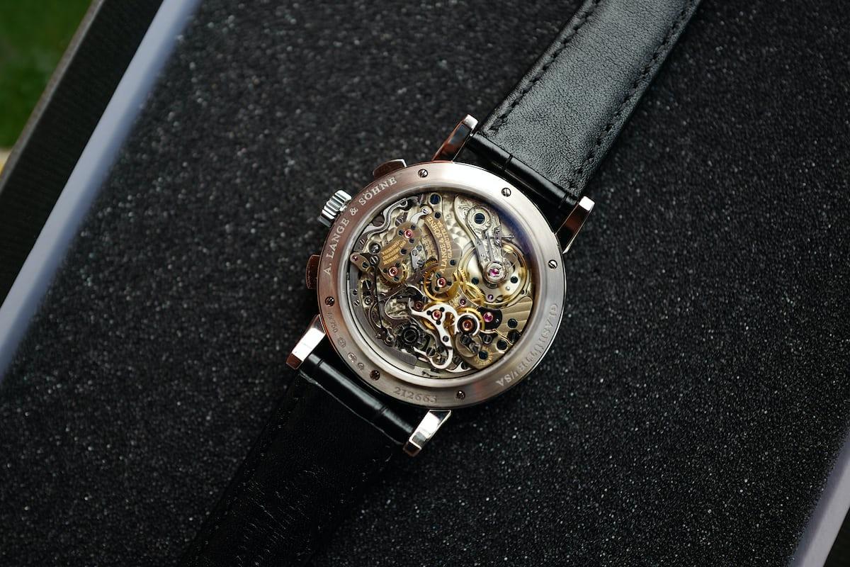 Lange 1815 chronograph caliber