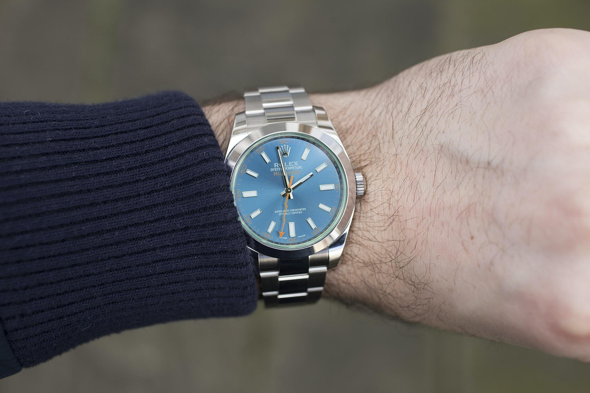 In,Depth The Rolex Milgauss Z,Blue Edition , HODINKEE
