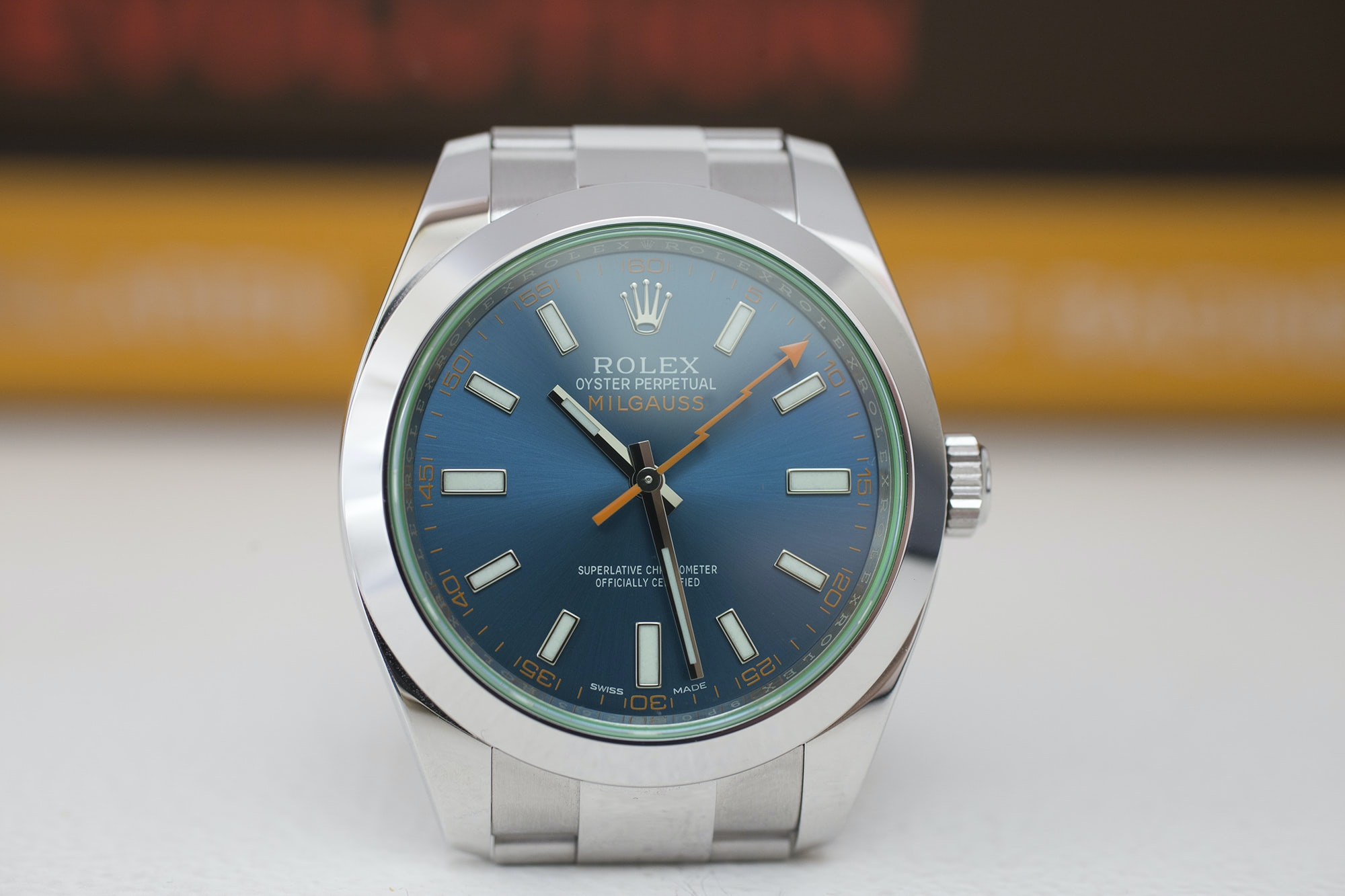 rolex milgauss z-blue In-Depth: The Rolex Milgauss Z-Blue Edition In-Depth: The Rolex Milgauss Z-Blue Edition IMG 6434