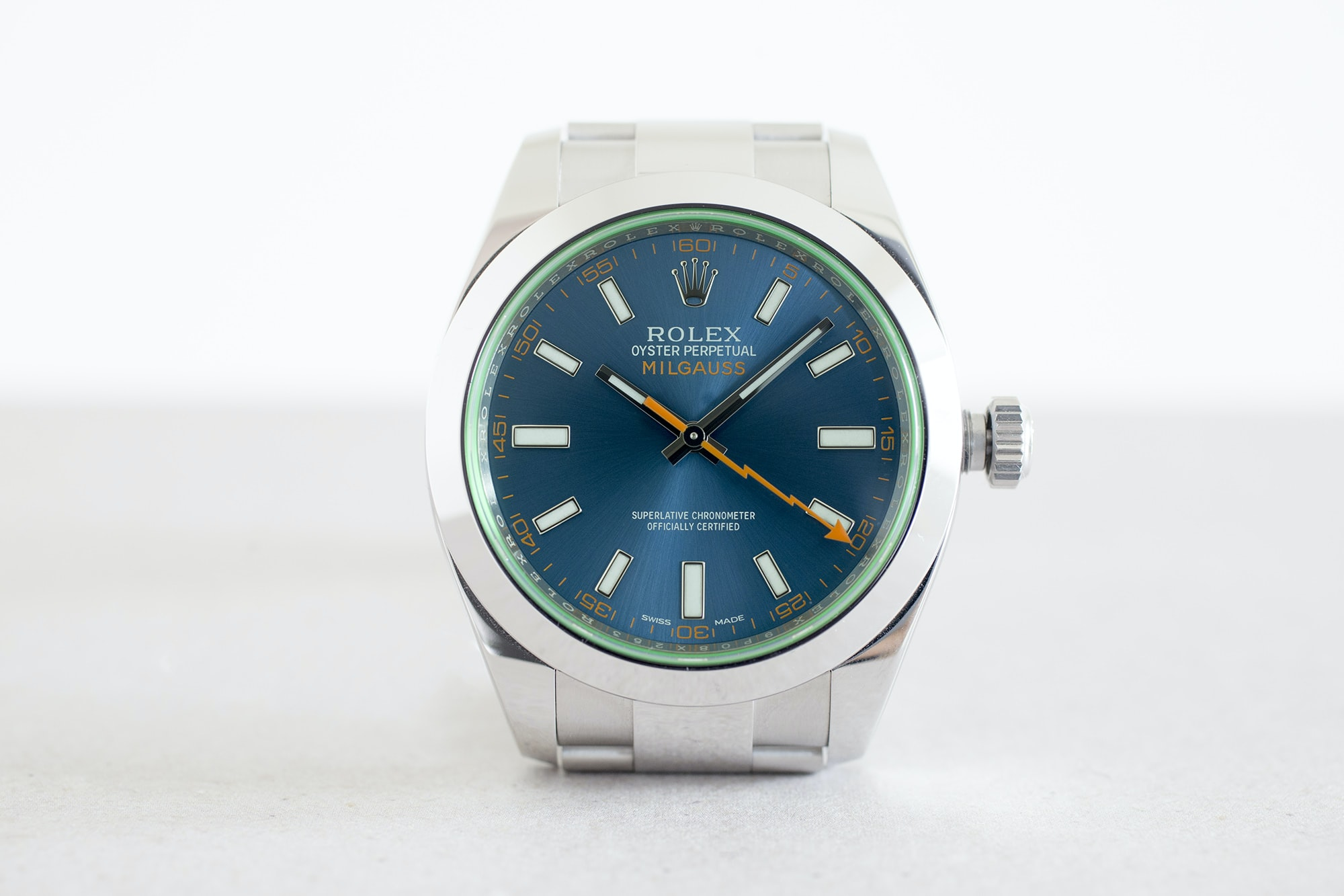 In,Depth The Rolex Milgauss Z,Blue Edition , HODINKEE