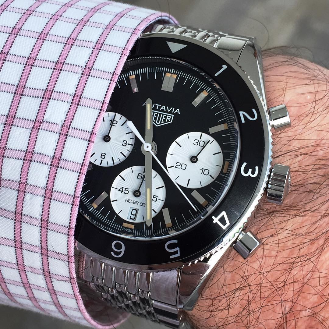 tag heuer autavia wristshot Interview: Heuer Expert Jeff Stein's Take On The 2017 TAG Heuer Autavia Interview: Heuer Expert Jeff Stein's Take On The 2017 TAG Heuer Autavia 31Aut2017WristArrival