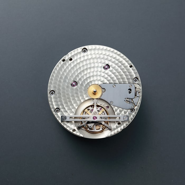 Bottom plate, Citizen Y01 Tourbillon