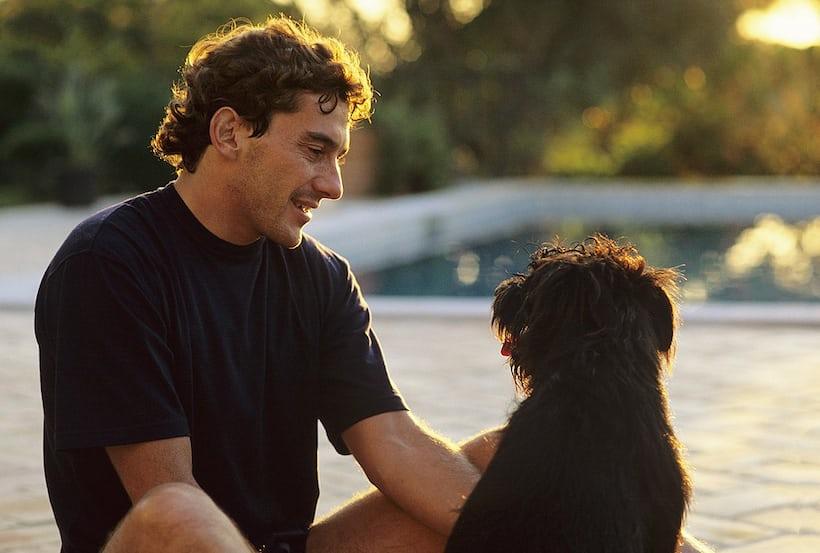 Ayrton Senna Brazil portrait