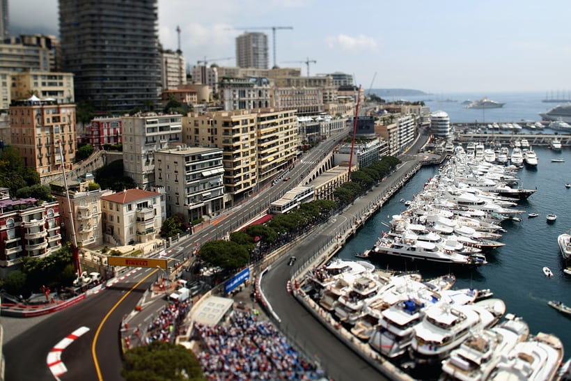View of the Monaco Grand Prix Circuit
