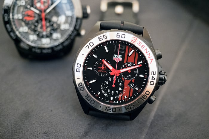 The Senna Formula 1 Chronograph