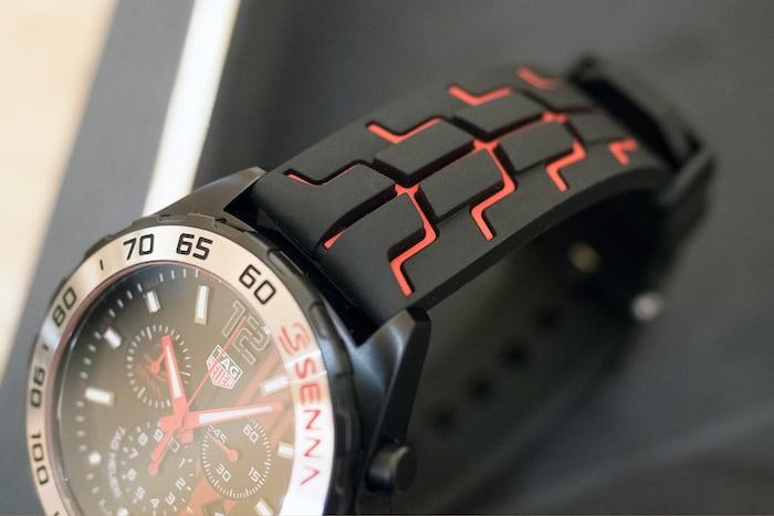 Senna Formula 1 Chronograph strap