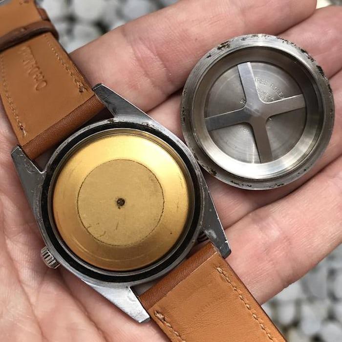 Rolex Milgauss 1019 caseback