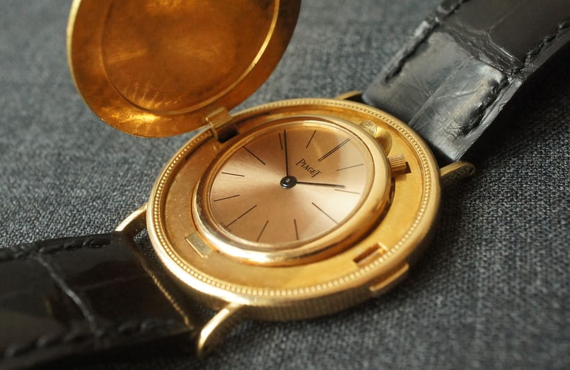 Piaget Watch In A 1904 Coin