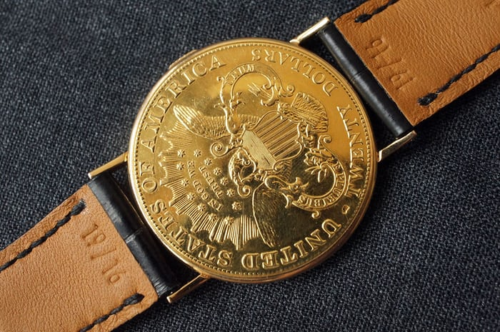 Piaget coin watch