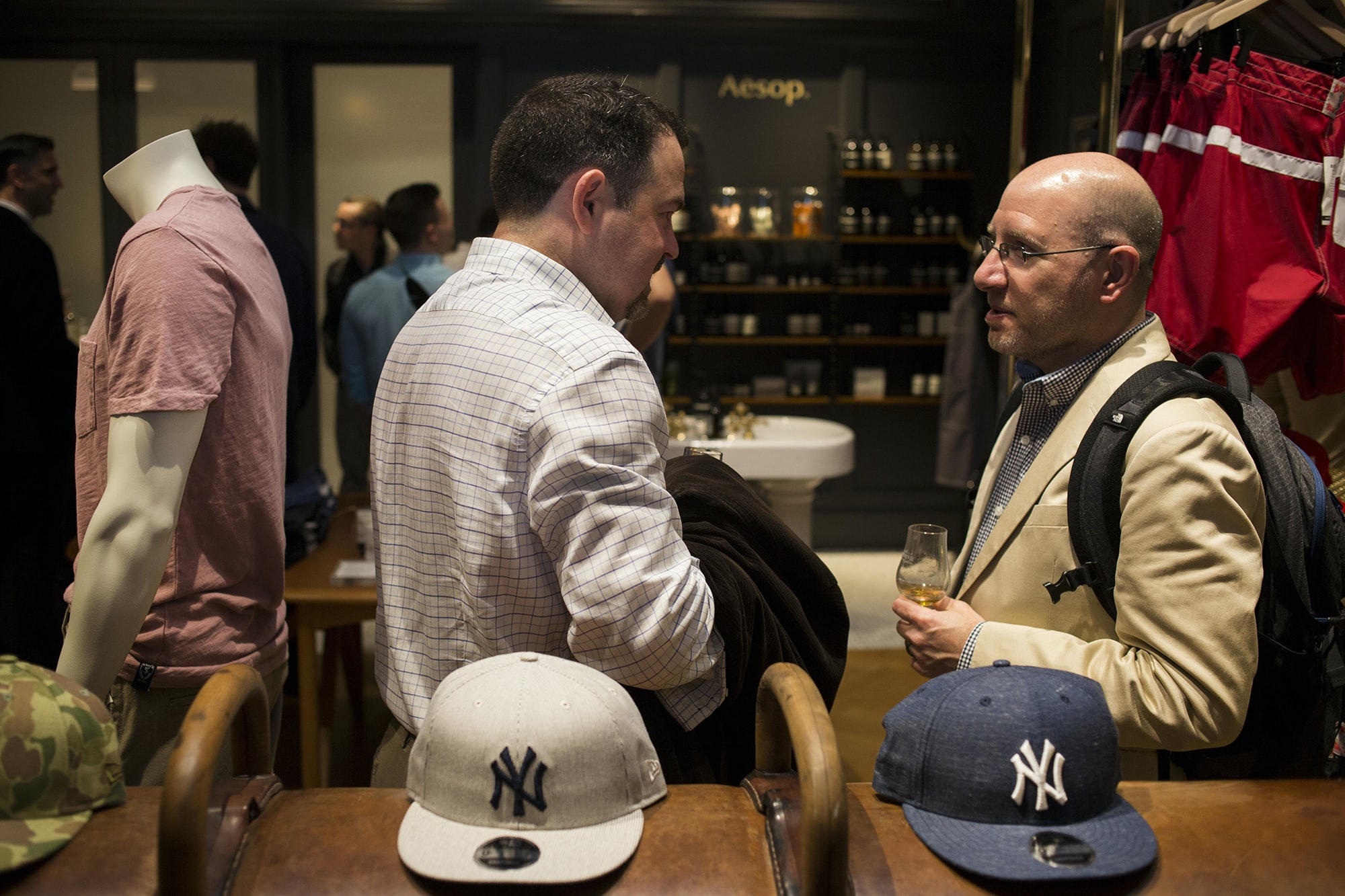 Photo Report: The HODINKEE Summer Kick-Off Party At Todd Snyder In New York City Photo Report: The HODINKEE Summer Kick-Off Party At Todd Snyder In New York City  20011135 copy