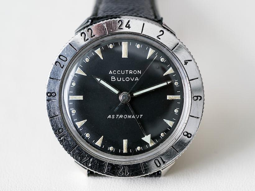 indepth bulovas accutron astronaut � the watch chosen
