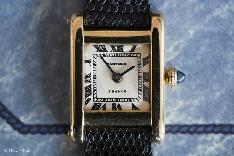 "Jacqueline Kennedy Onassis, Cartier Tank, ""France"" marked dial"