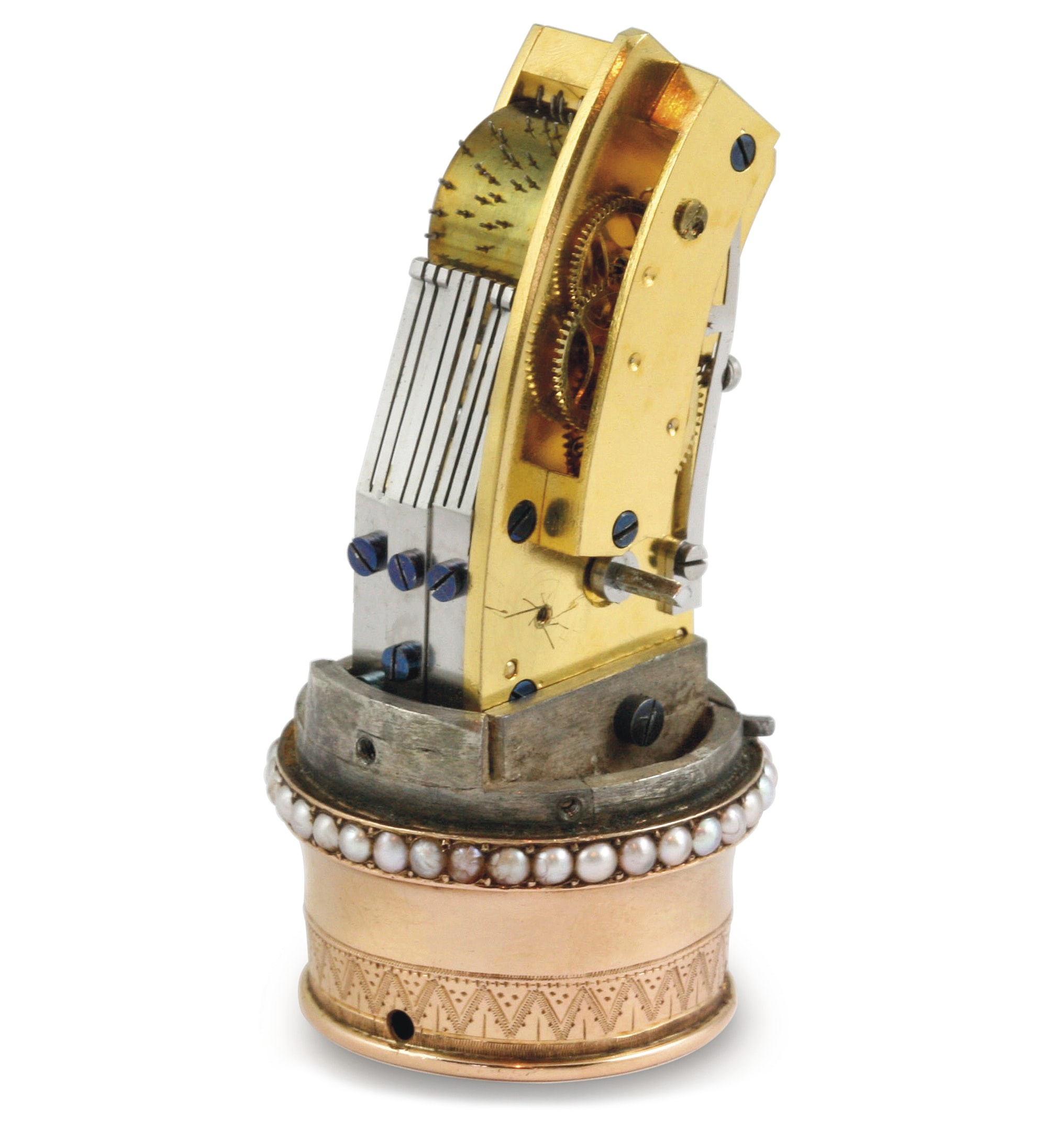 Music box fitted into the head of a cane, Geneva 1810 Just Because: At Christie's 'Rare Watches And A Rolex Afternoon,' A Rare Watch That Isn't A Rolex Just Because: At Christie's 'Rare Watches And A Rolex Afternoon,' A Rare Watch That Isn't A Rolex 54367388b
